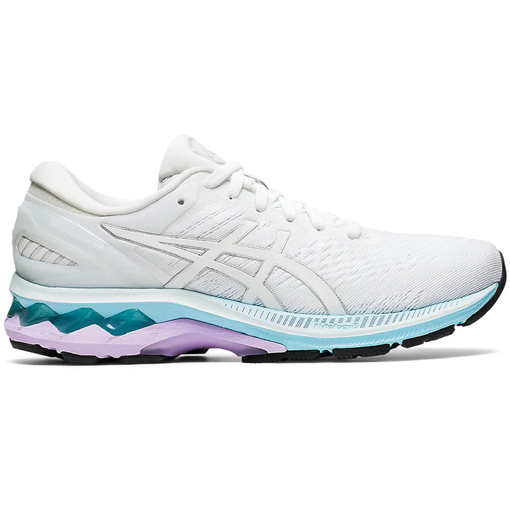 ASICS | WOMENS GEL-KAYANO 27 (WHITE/PURE SILVER)