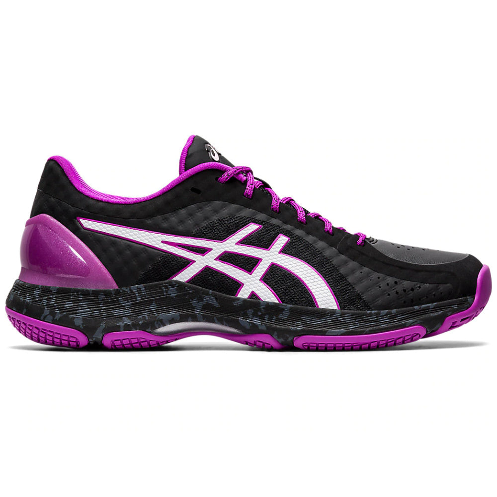ASICS | WOMENS NETBURNER SUPER FF BLACK/PURPLE