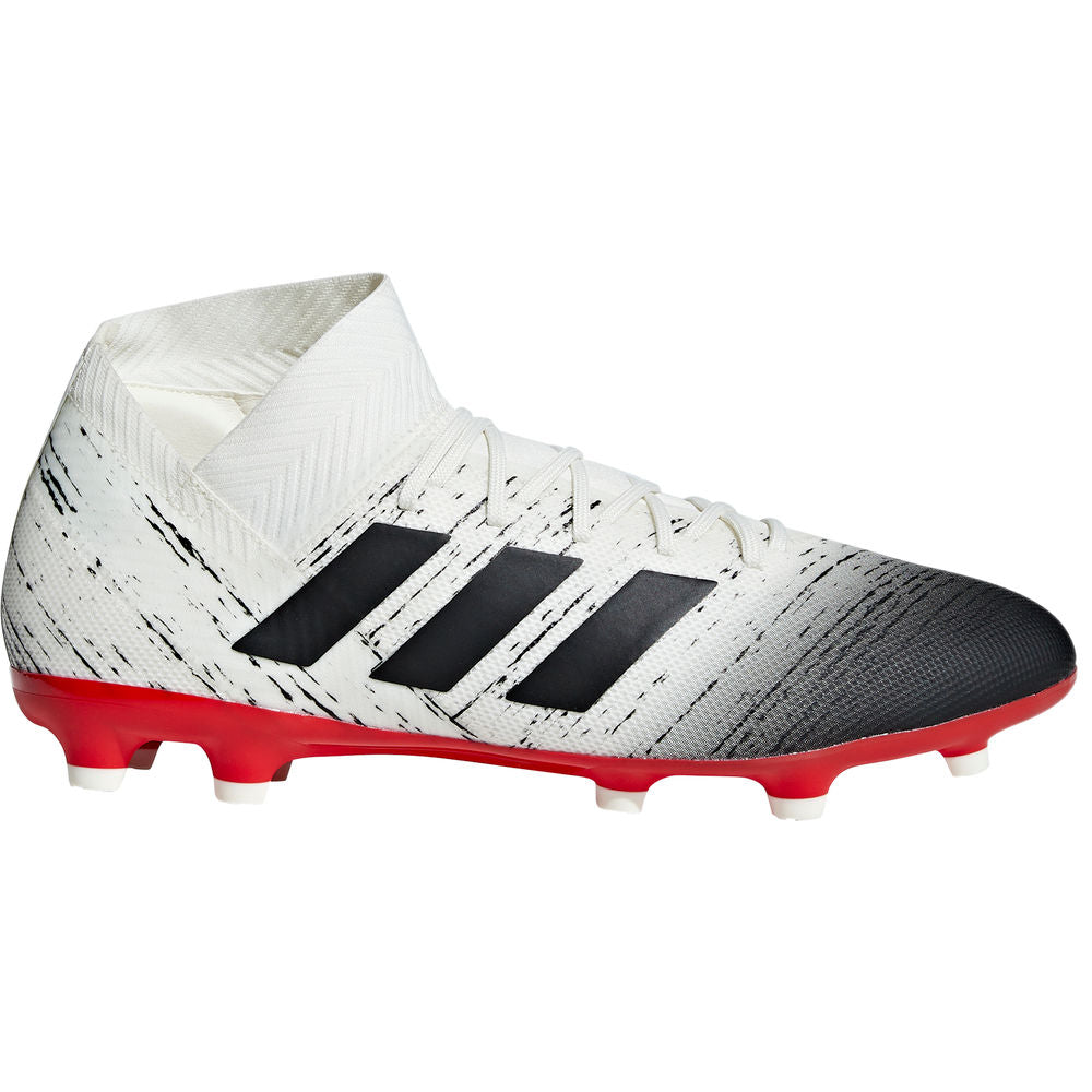 ADIDAS | MENS NEMEZIZ 18.3 FG BEIGE/BLACK/RED