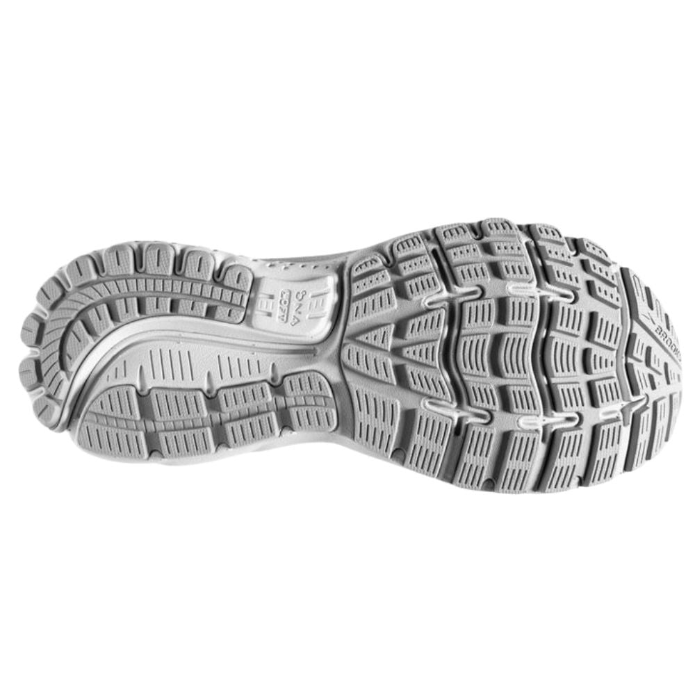 BROOKS | WOMENS GHOST 12 WHITE/OYSTER