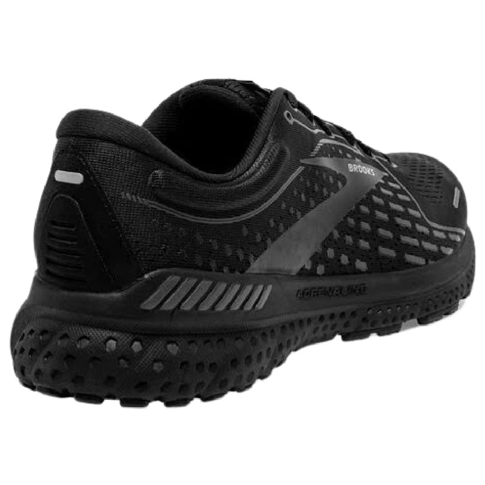 BROOKS | MENS ADRENALINE GTS 21 BLACK/BLACK