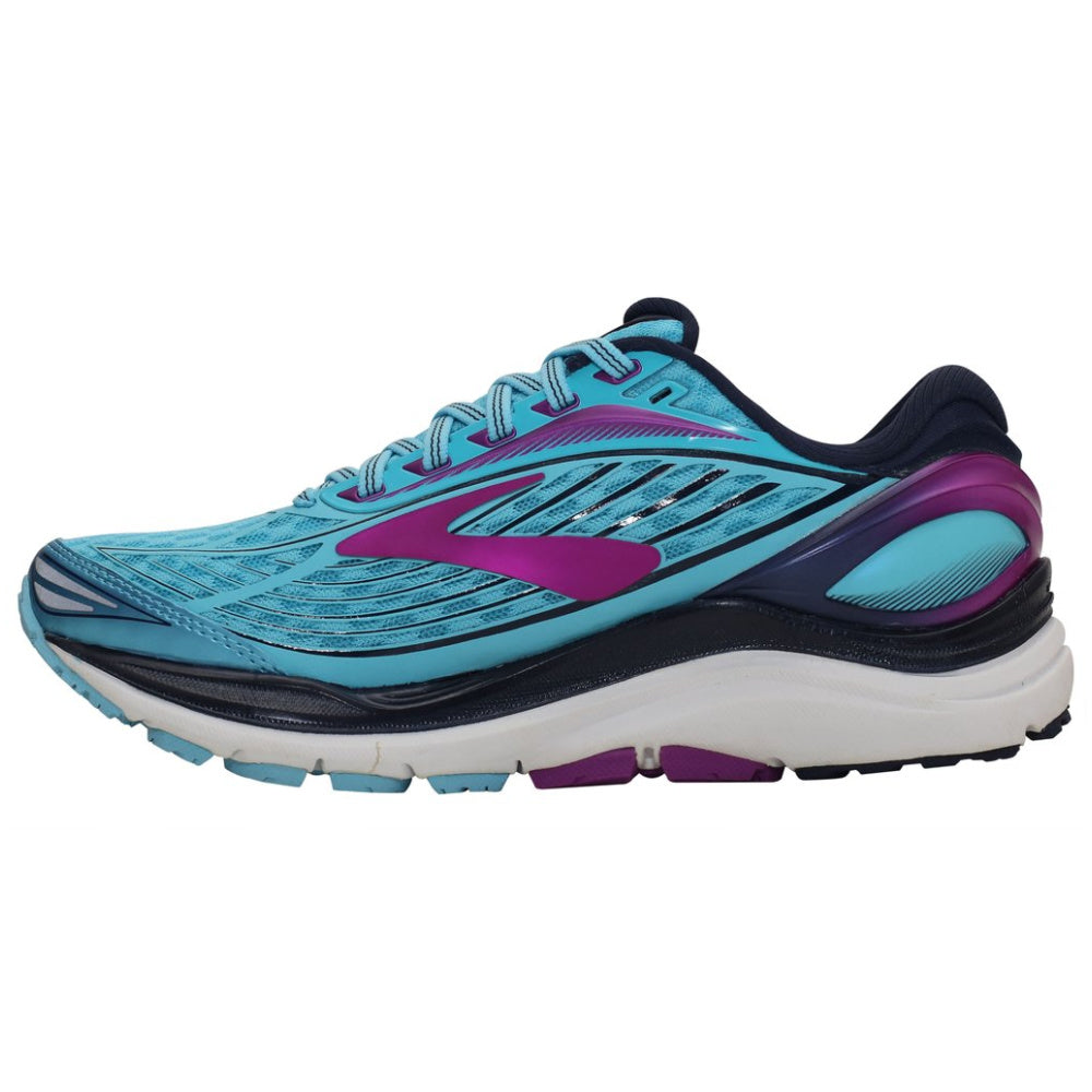 BROOKS | WOMENS TRANSCEND 4 (BLUE/NAVY/PURPLE)