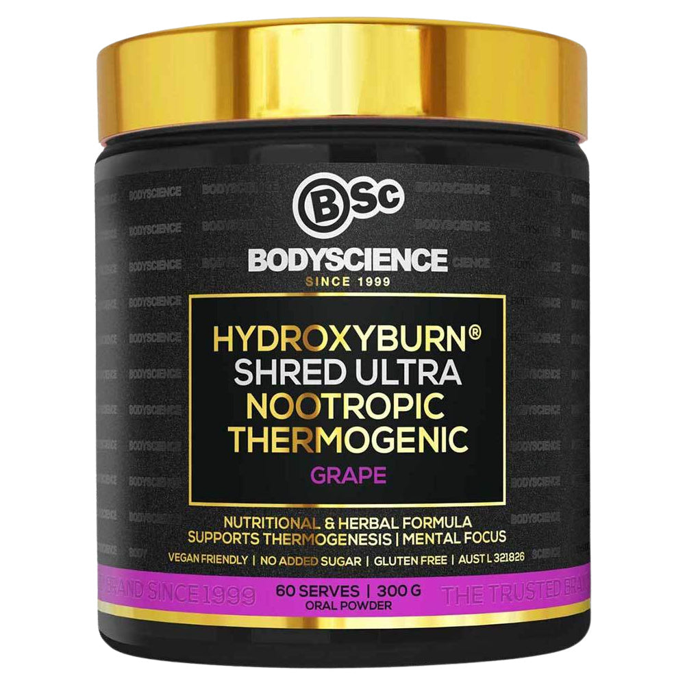 BSC | HYDROXYBURN SHRED ULTRA NOOTROPIC THERMOGENIC 300G