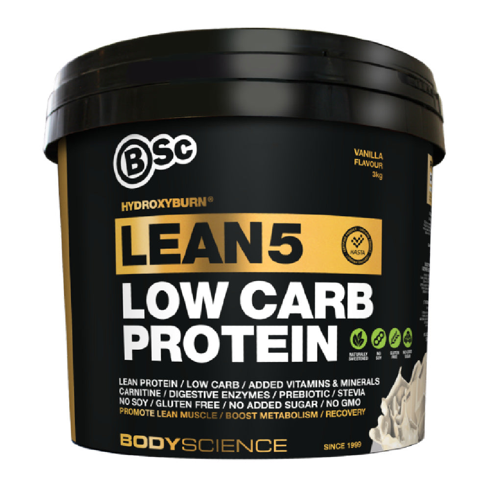 BSC | HYDROXY BURN LEAN5 LOW CARB PROTEIN 3KG