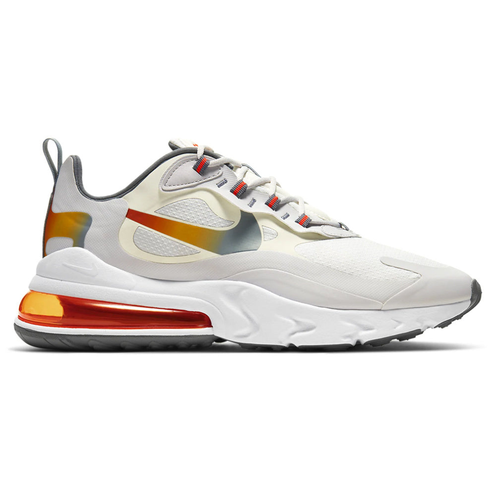 NIKE | MENS AIR MAX 270 REACT SE (SUMMIT WHITE/METALLIC GOLD)