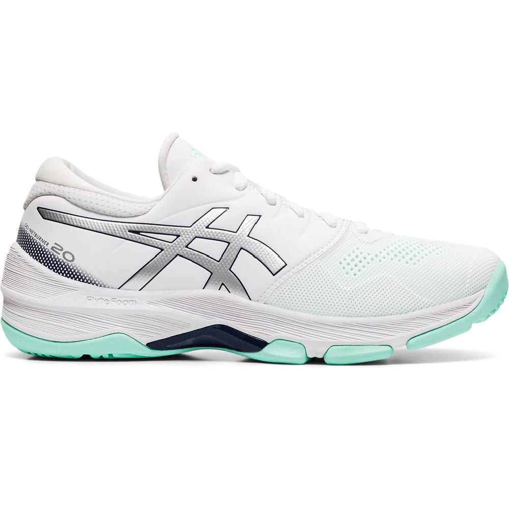 ASICS | WOMENS GEL-NETBURNER 20 WHITE