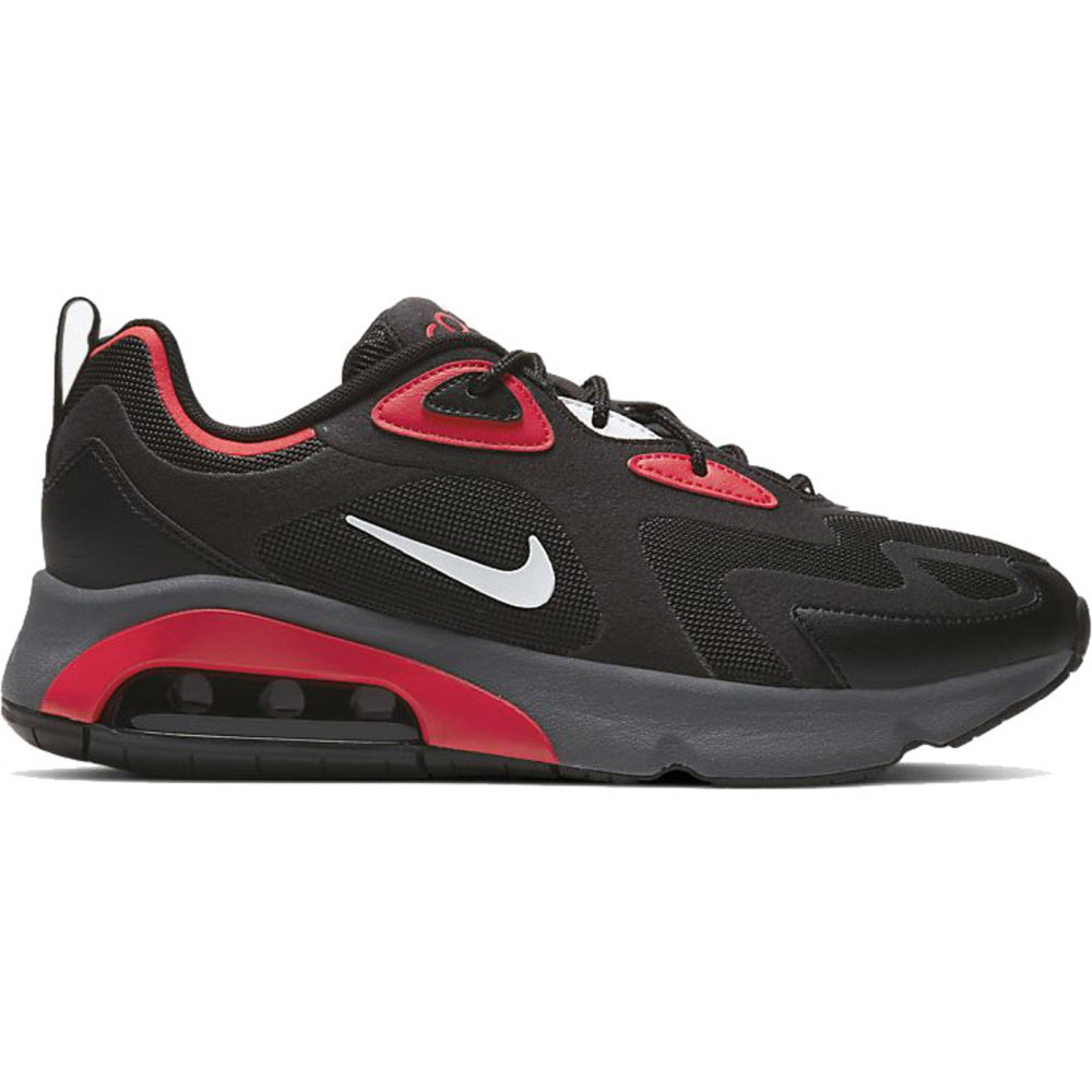 NIKE | MENS AIR MAX 200 (BLACK/RED)
