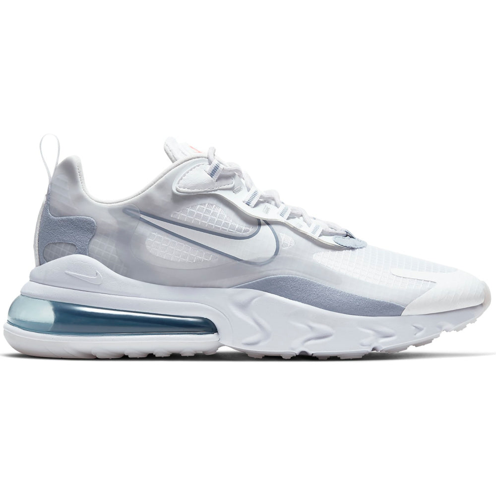NIKE | MENS AIR MAX 270 REACT SE (WHITE/PURE PLATINUM)