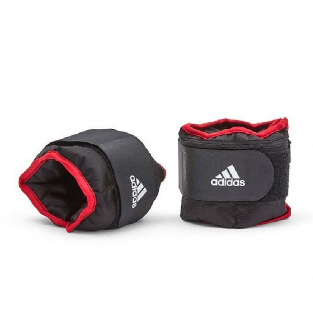 ADIDAS | ADJUSTABLE ANKLE WEIGHTS 1KG PAIR