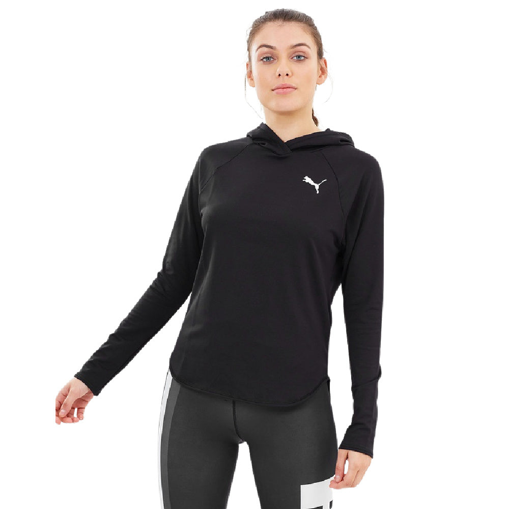 PUMA | WOMENS ACTIVE HOODY BLACK