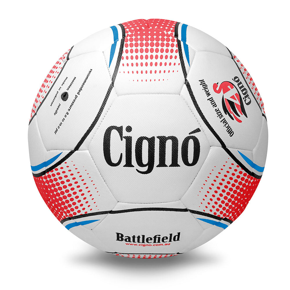 CIGNO | FOOTBALL BATTLEFIELD (WHITE/RED/BLUE)