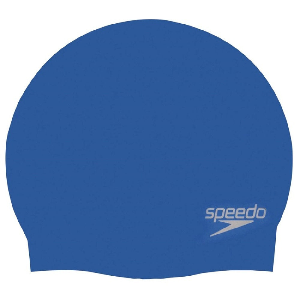 SPEEDO | PLAIN MOULDED SILICONE CAP (ADULTS)