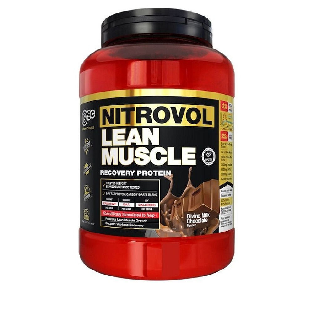 BSC | NITROVOL LEAN MUSCLE RECOVERY PROTEIN 1.5KG