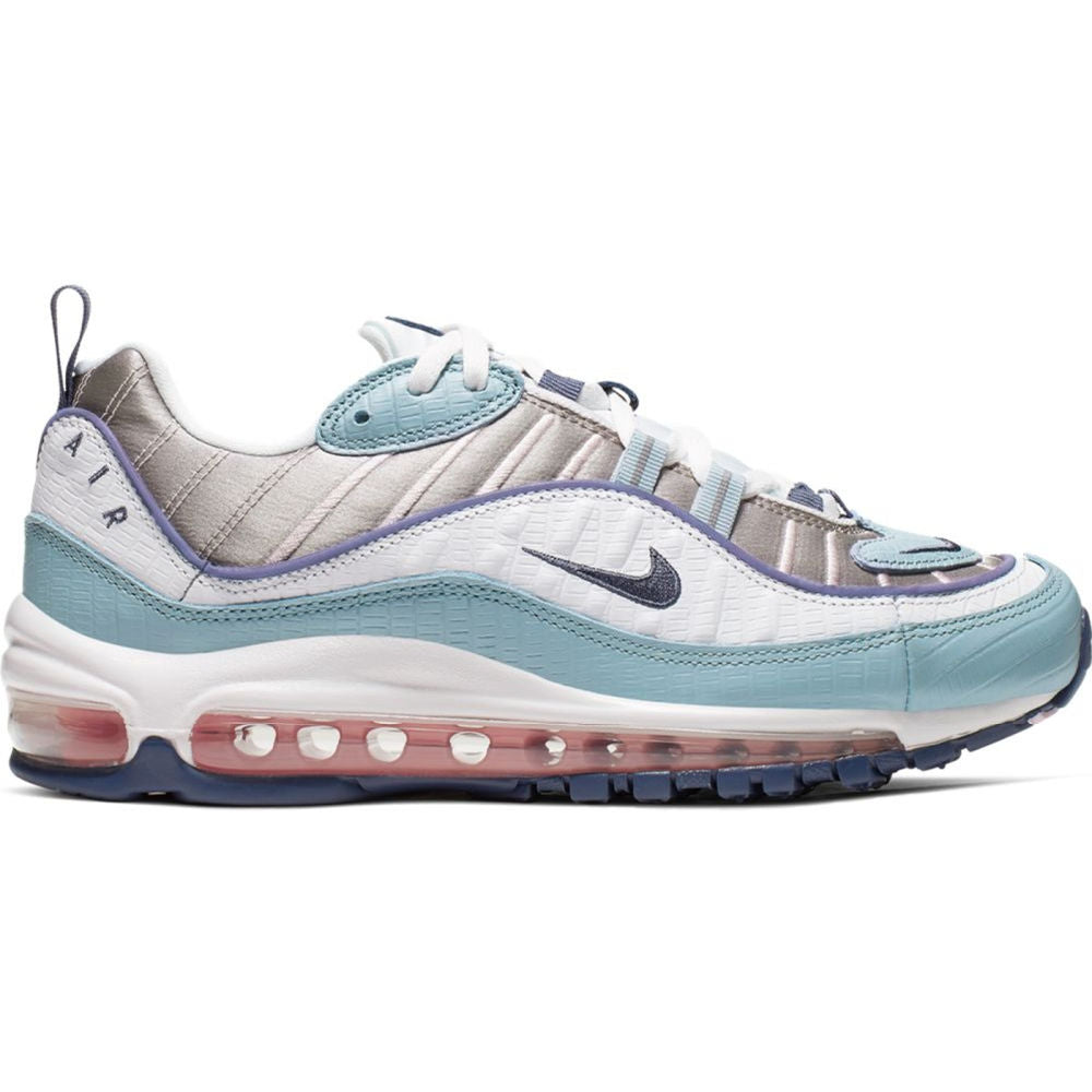 NIKE | WOMENS AIR MAX 98 (SANDED PURPLE/ ECHO PINK-PUMICE)