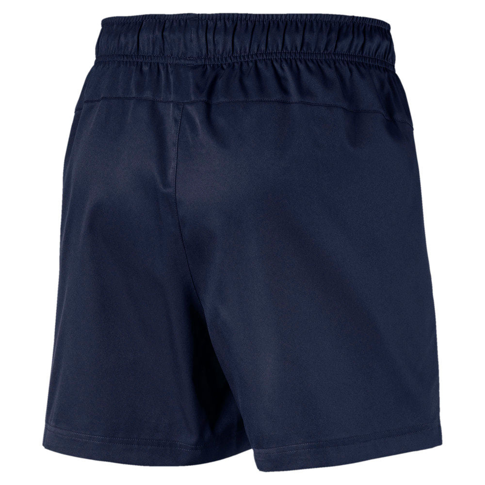 "PUMA | MENS ACTIVE WOVEN SHORT 5"" PEACOAT"