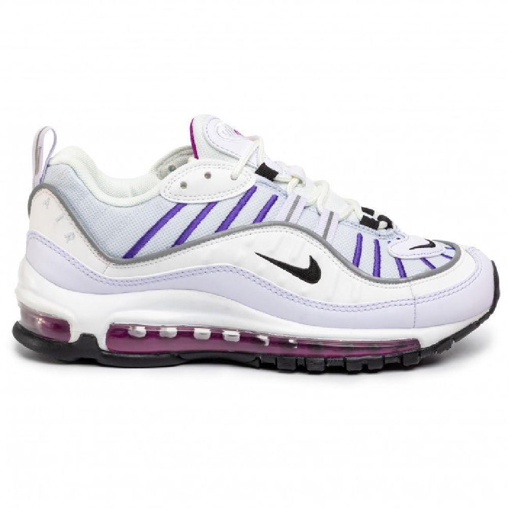 NIKE | WOMENS AIR MAX 98 (FOOTBALL GREY/BLACK)