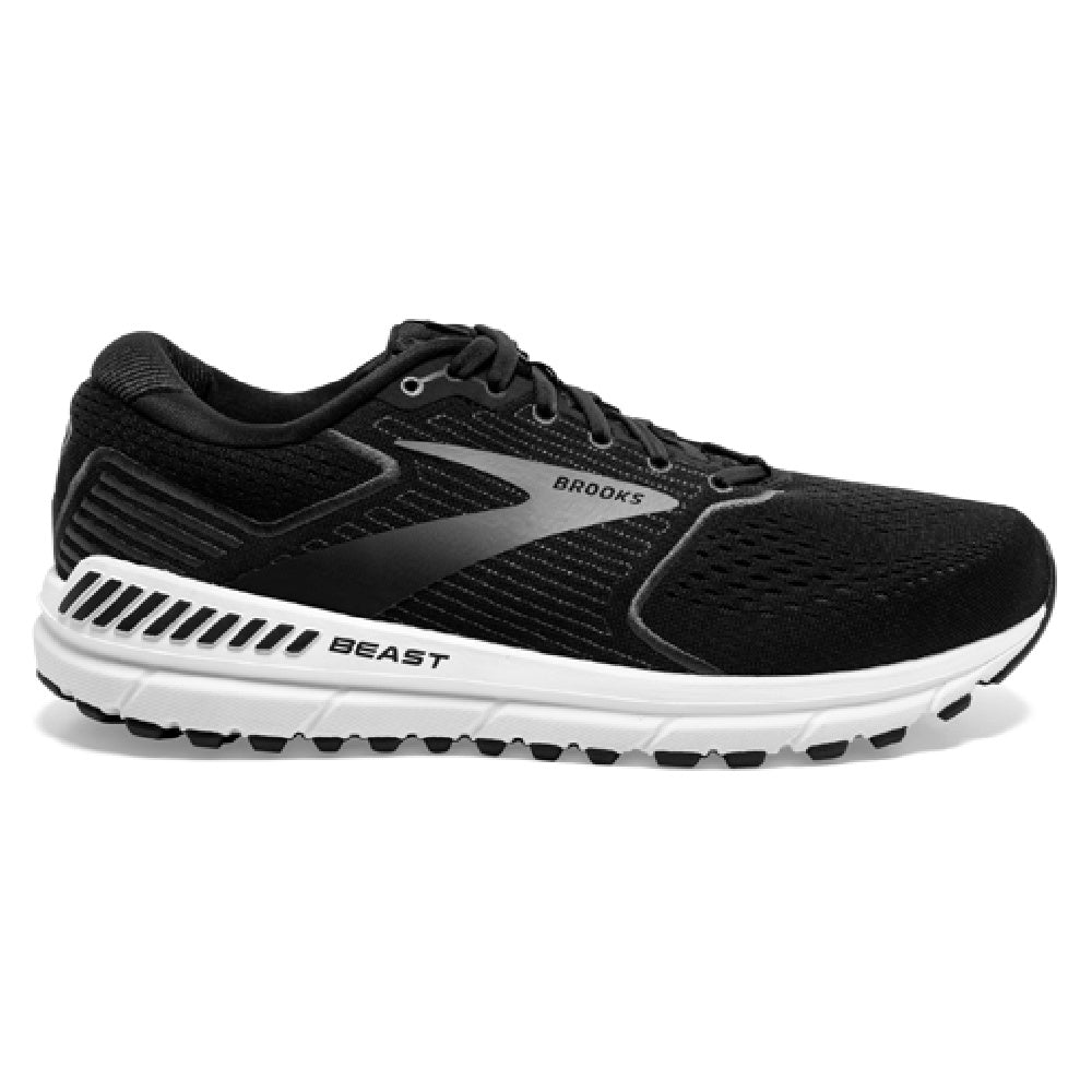 BROOKS | MENS BEAST 20 (BLACK/WHITE)