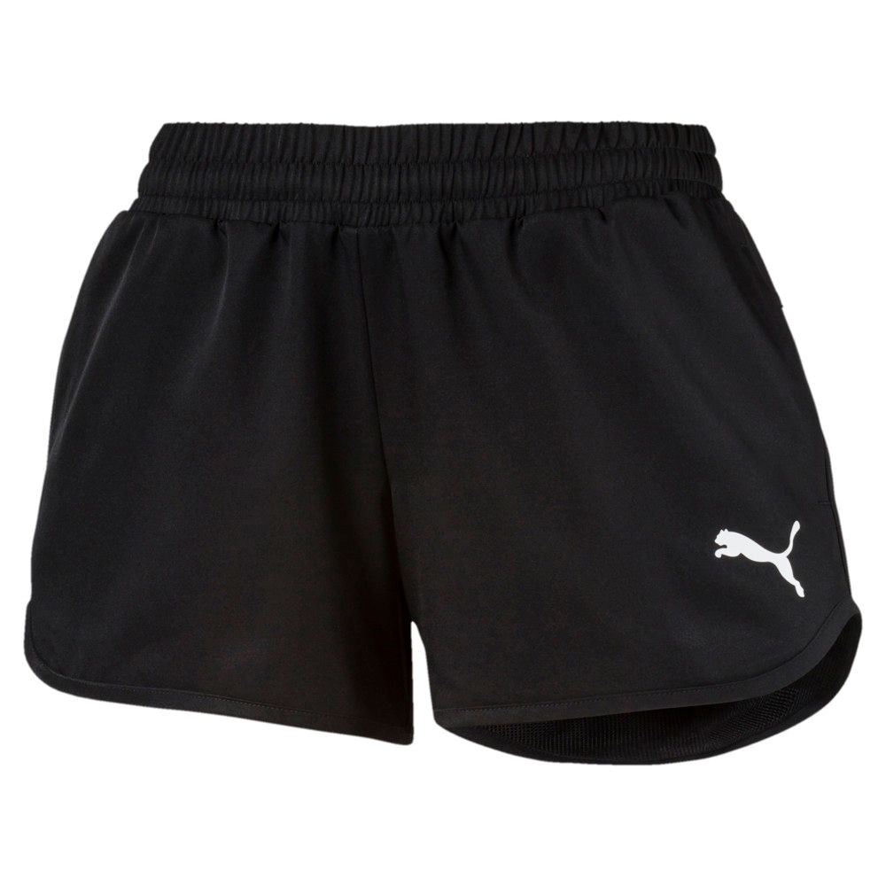 PUMA | WOMENS ACTIVE WOVEN SHORTS BLACK