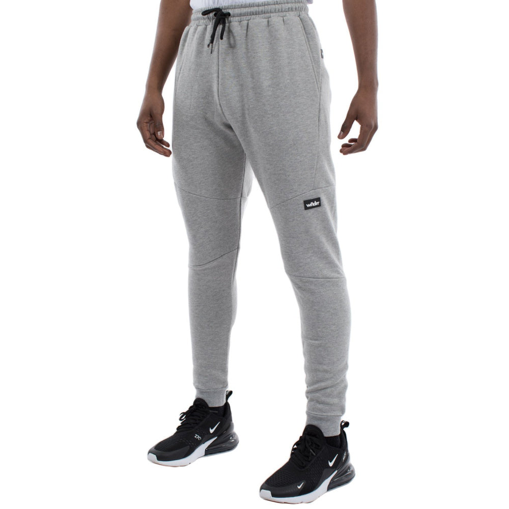 WNDRR | MENS HOXTON TECH TRACKPANT GREY MARLE