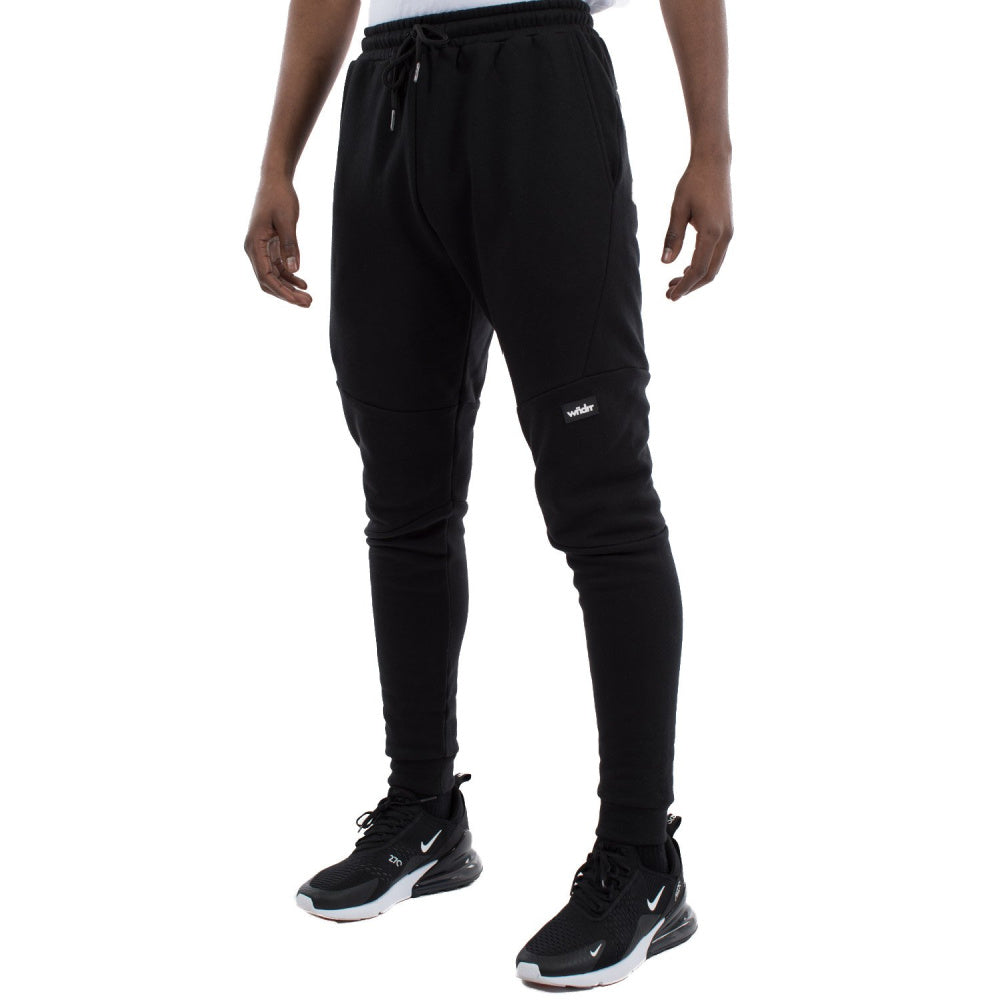 WNDRR | MENS HOXTON TECH TRACKPANT BLACK