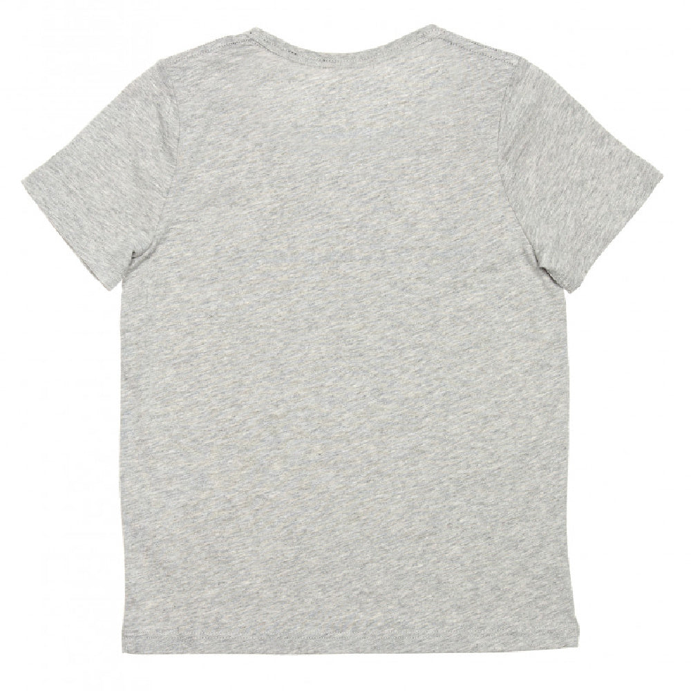 CHAMPION | KIDS SCRIPT SHORT SLEEVE TEE GREY