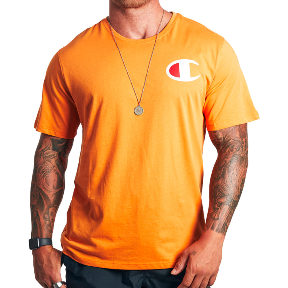 CHAMPION | MENS C LOGO SHORT SLEEVE TEE (SPICE ALLEY)