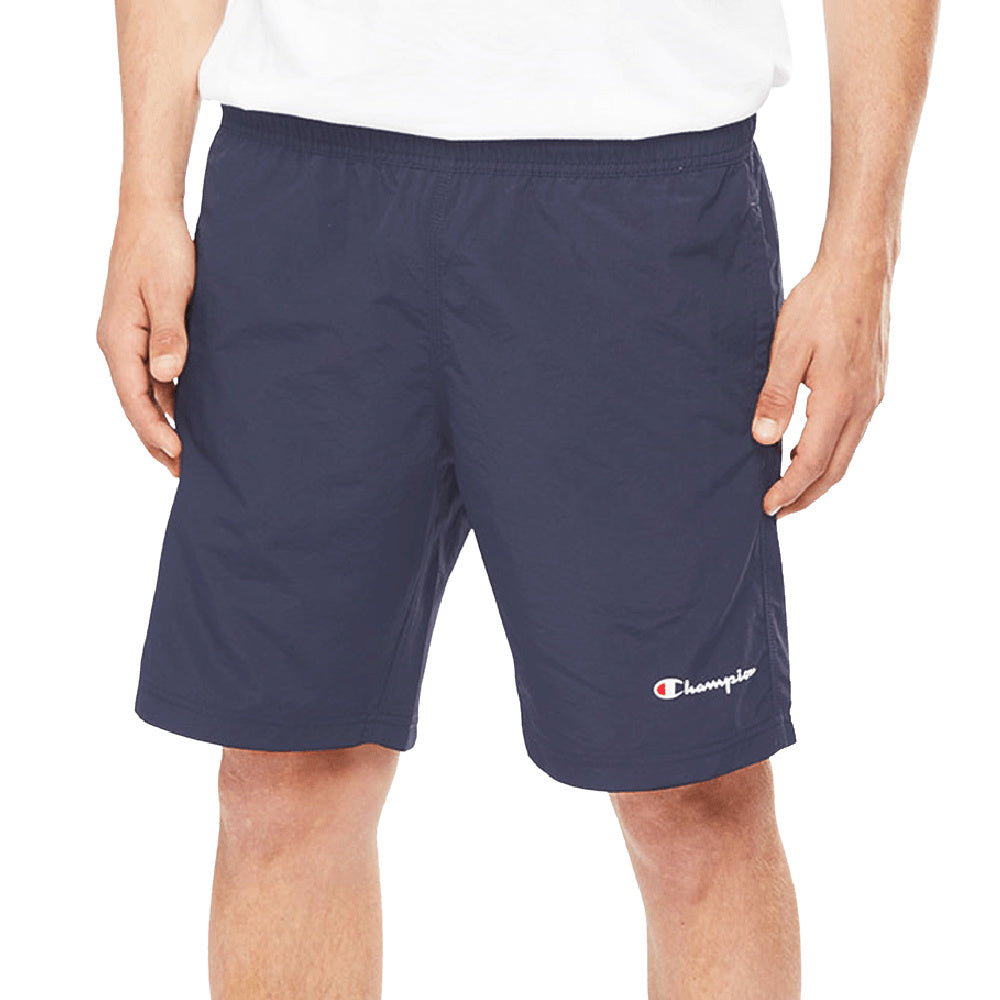 CHAMPION | MENS SCRIPT BEACH SHORT NAVY
