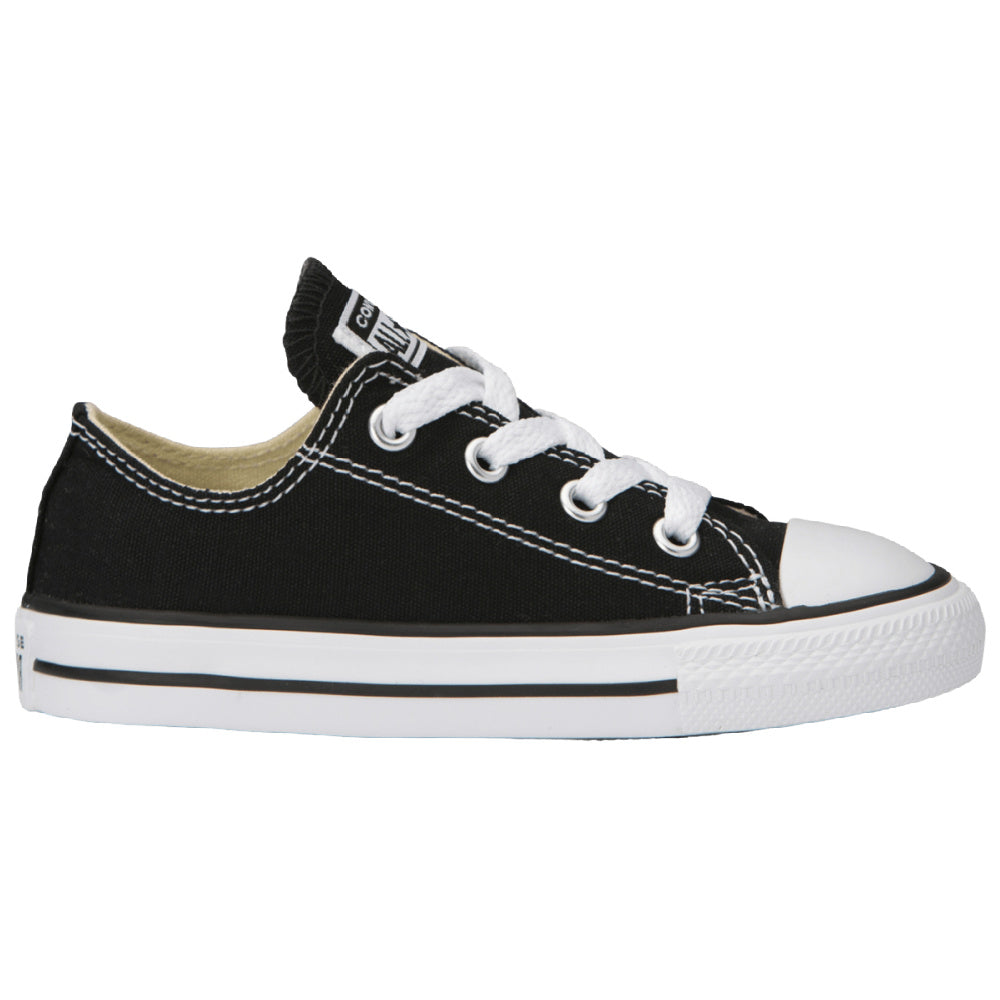 CONVERSE | INFANT CHUCK TAYLOR ALL STAR LOW CANVAS BLACK/WHITE