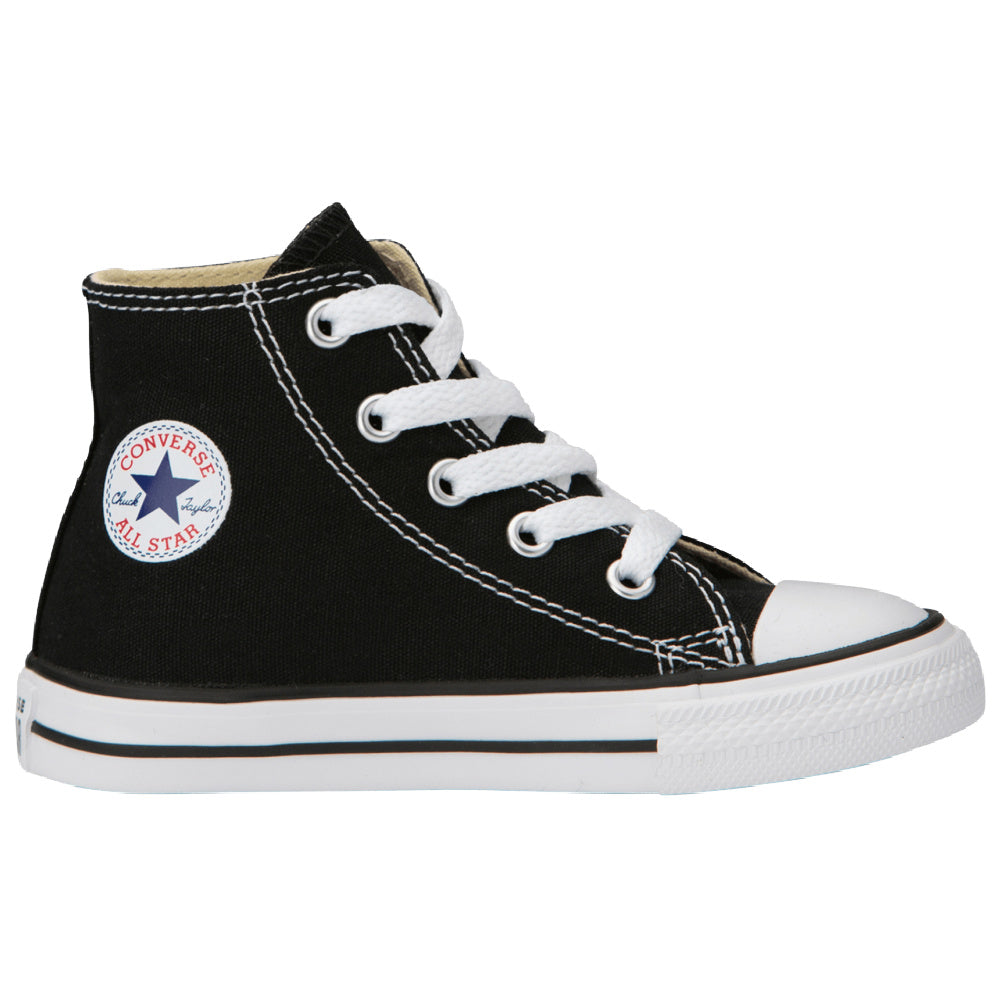 CONVERSE | INFANT CHUCK TAYLOR ALL STAR HIGH TOP CANVAS BLACK/WHITE