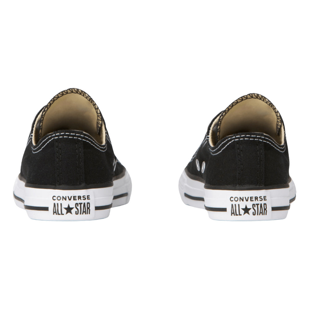CONVERSE | KIDS CHUCK TAYLOR ALL STAR CANVAS LOW TOP BLACK/WHITE