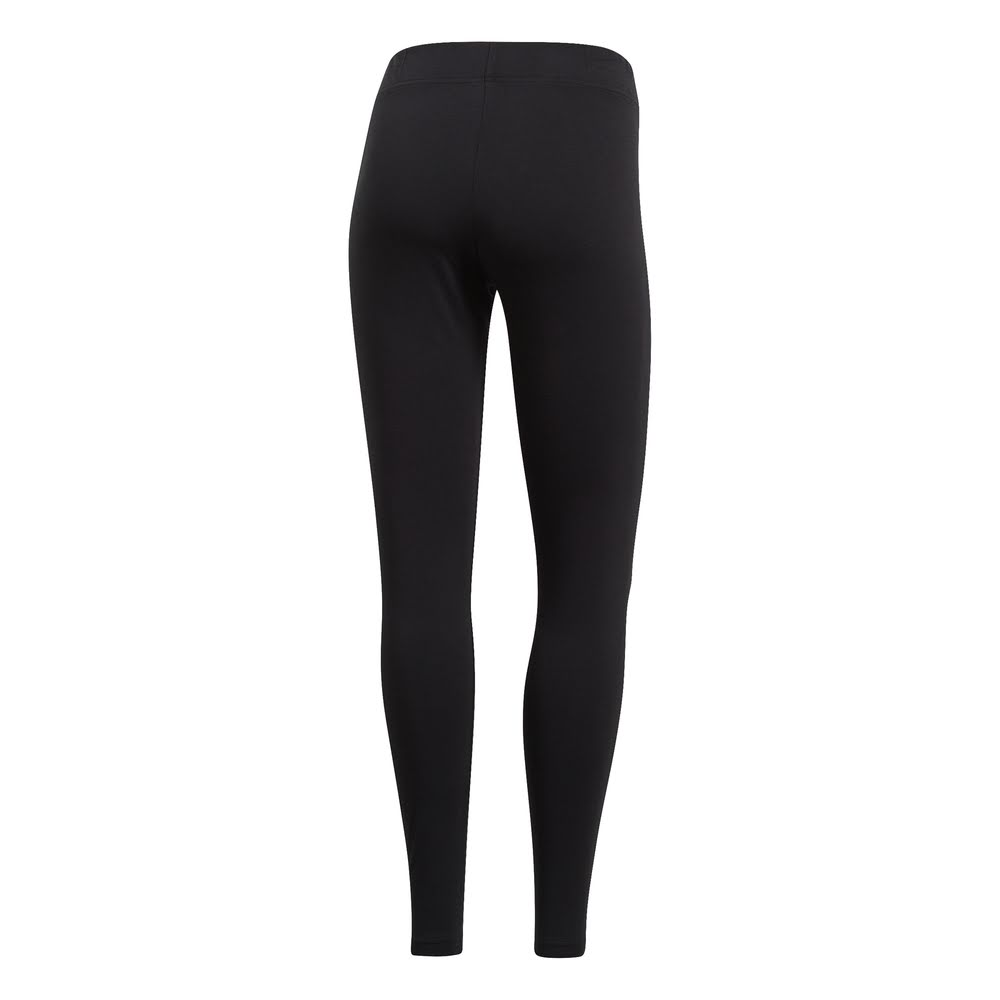 ADIDAS | WOMENS ESSENTIAL LINEAR TIGHT BLACK/WHITE