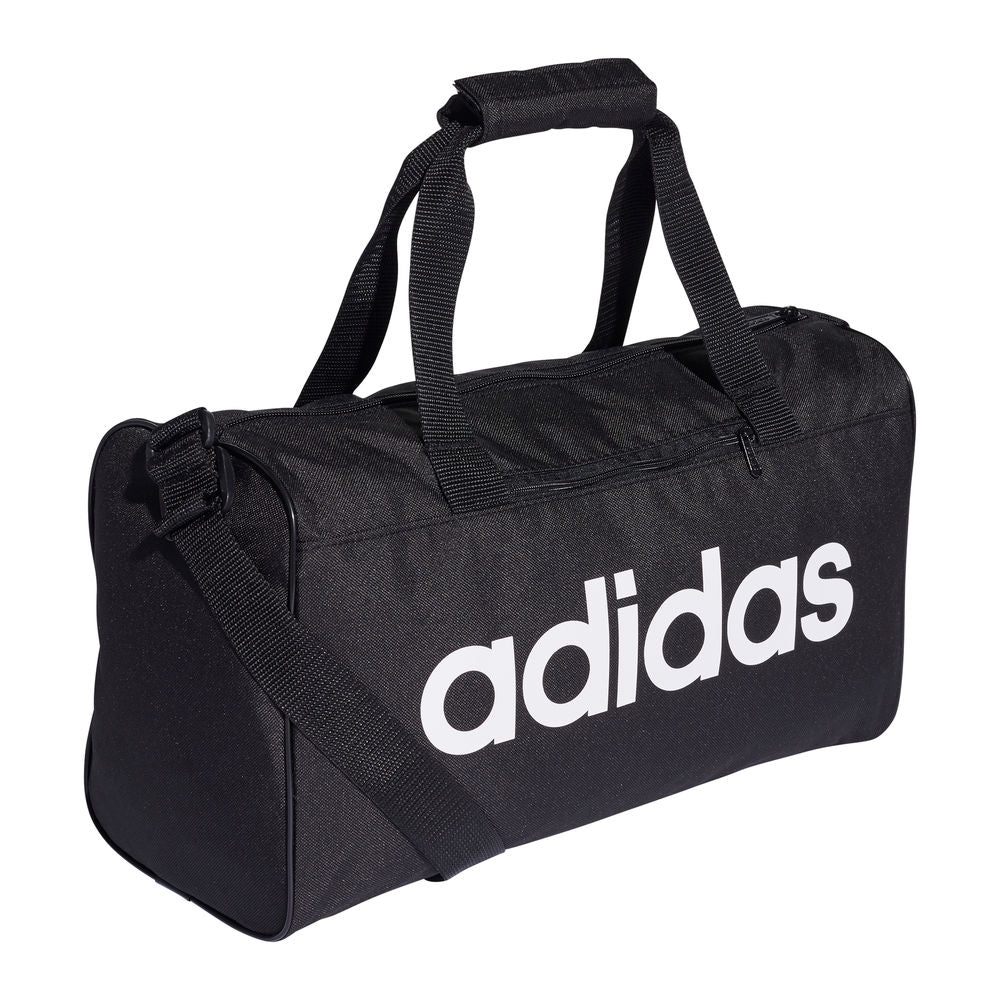 ADIDAS | LINEAR CORE DUFFEL BAG XSMALL (BLACK/WHITE)