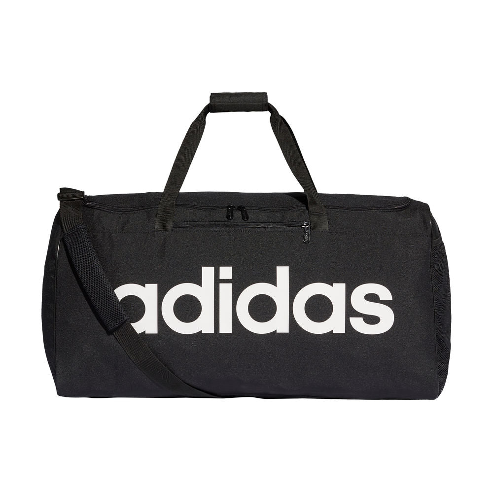 ADIDAS | LINEAR CORE DUFFEL BAG LARGE BLACK/WHITE