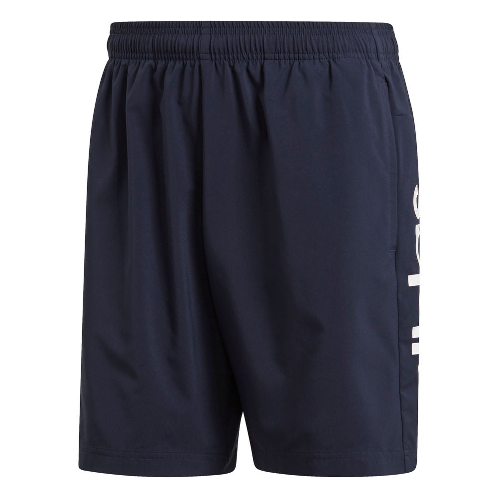 ADIDAS | MENS ESSENTIALS LINEAR CHELSEA SHORT LEGEND INK/WHITE