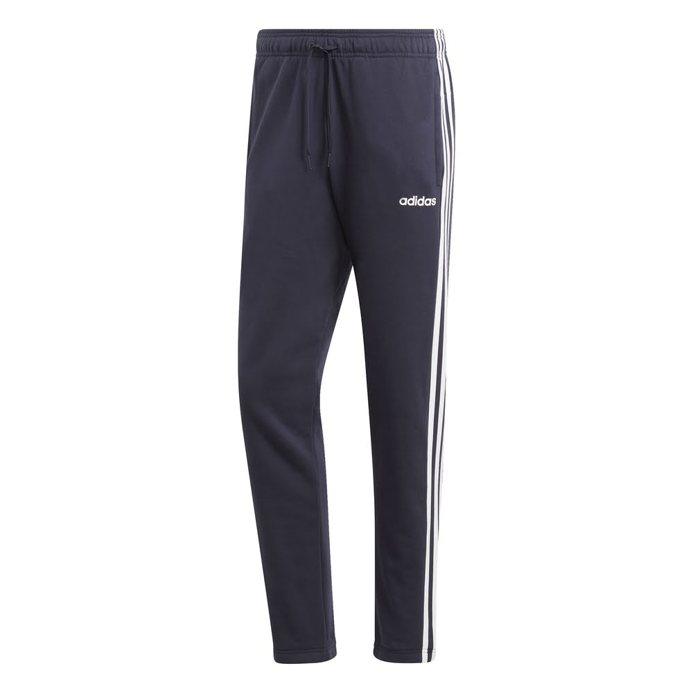 ADIDAS | MENS ESSENTIAL 3-STRIPES TAPERED PANT NAVY/WHITE
