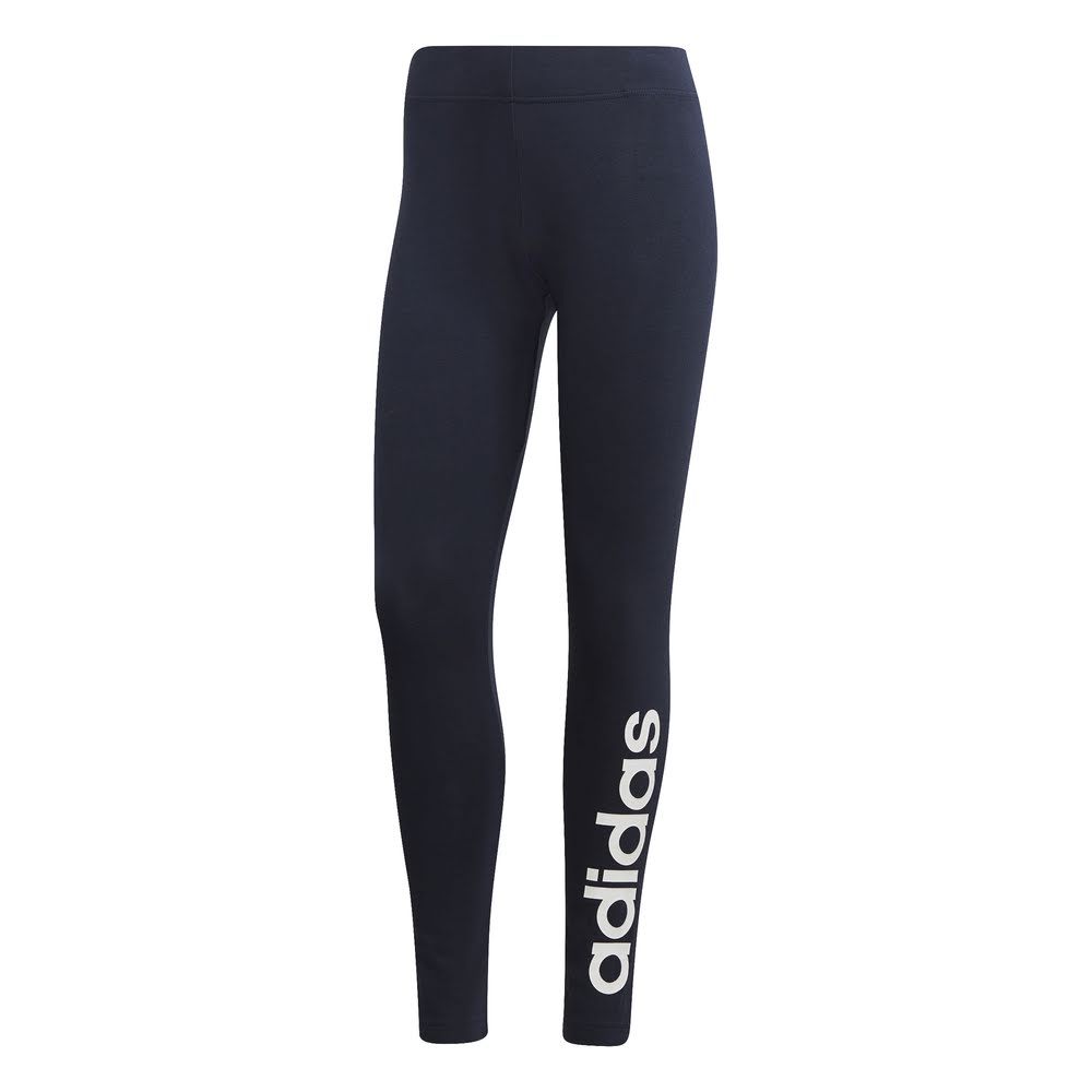 ADIDAS | WOMENS ESSENTIAL LINEAR TIGHT NAVY/WHITE