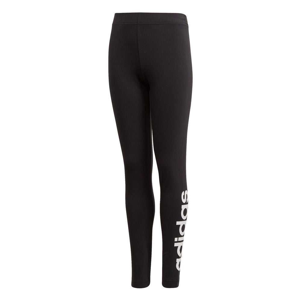 ADIDAS | YOUTH GIRLS ESSENTIALS LINEAR TIGHT BLACK