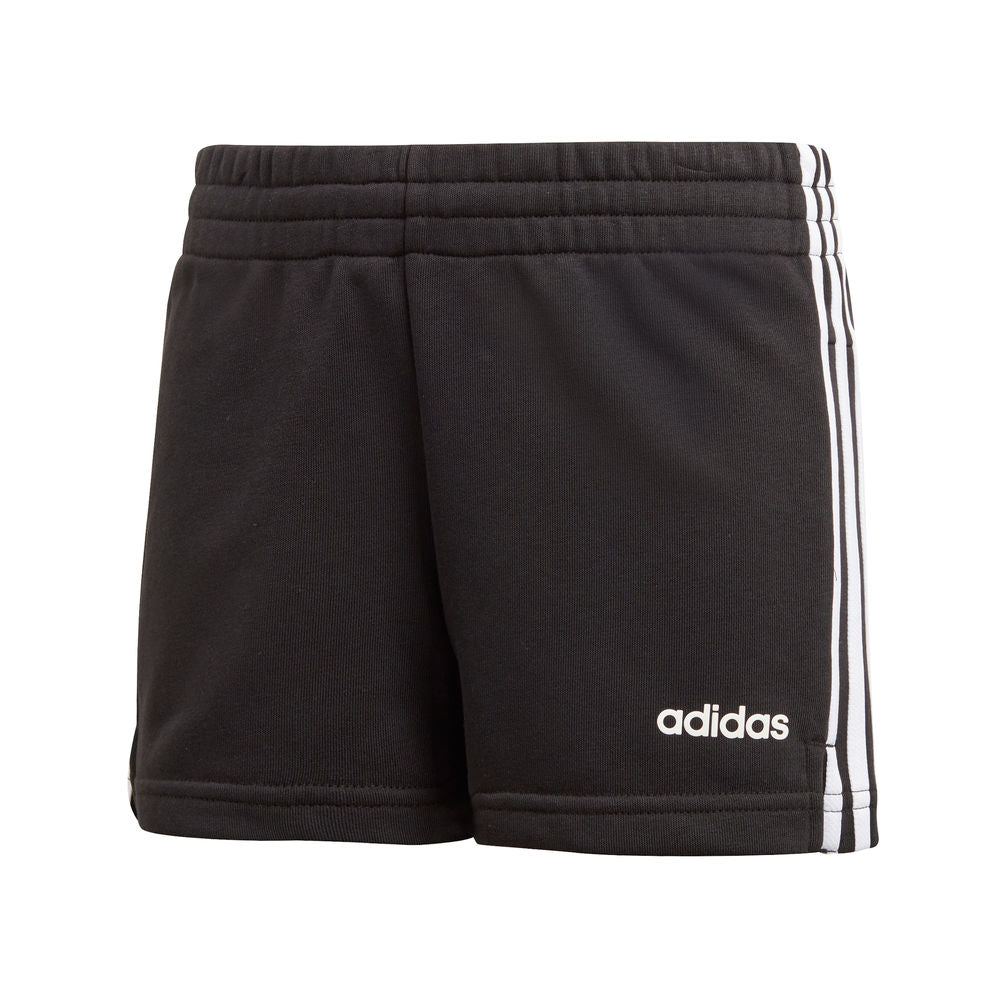 ADIDAS | YOUTH GIRLS ESSENTIALS 3S SHORT BLACK/WHITE