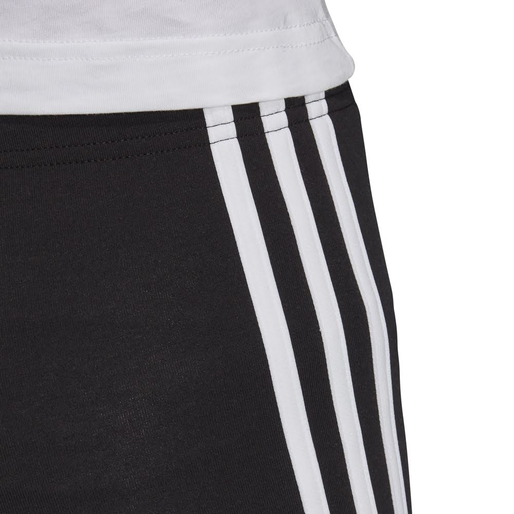 ADIDAS | YOUTH GIRLS ESSENTIALS 3-STRIPES TIGHTS BLACK/WHITE