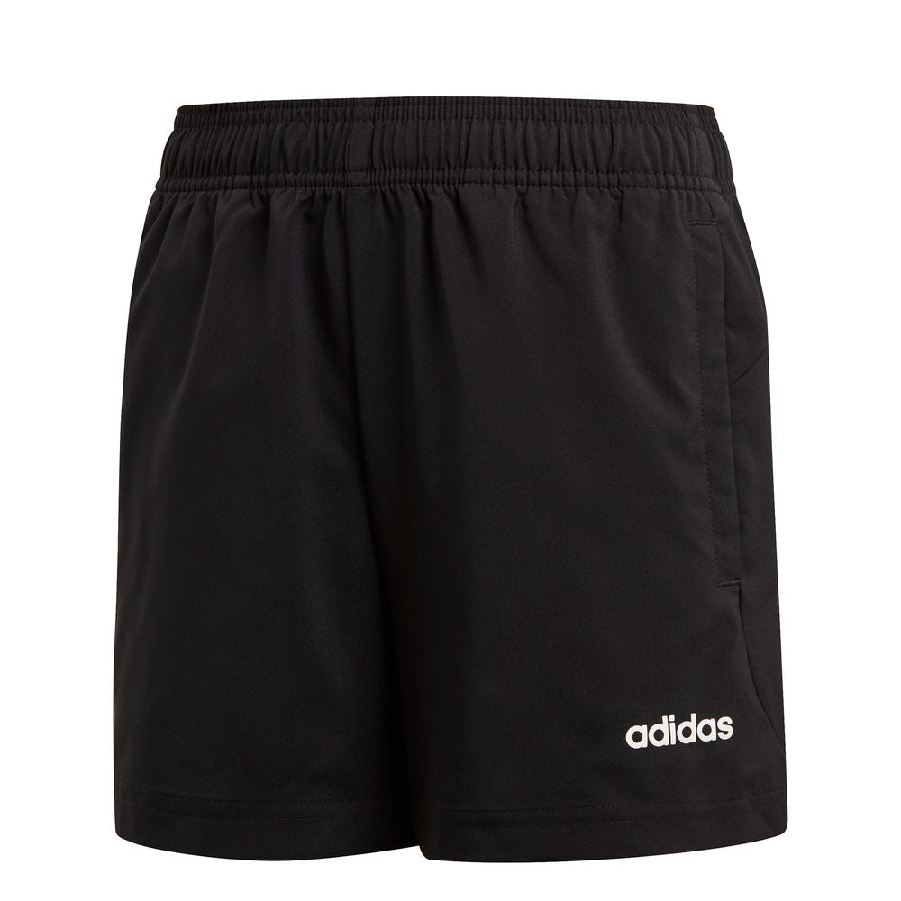 ADIDAS | YOUTH BOYS ESSENTIALS PLAIN CHELSEA SHORT BLACK/WHITE