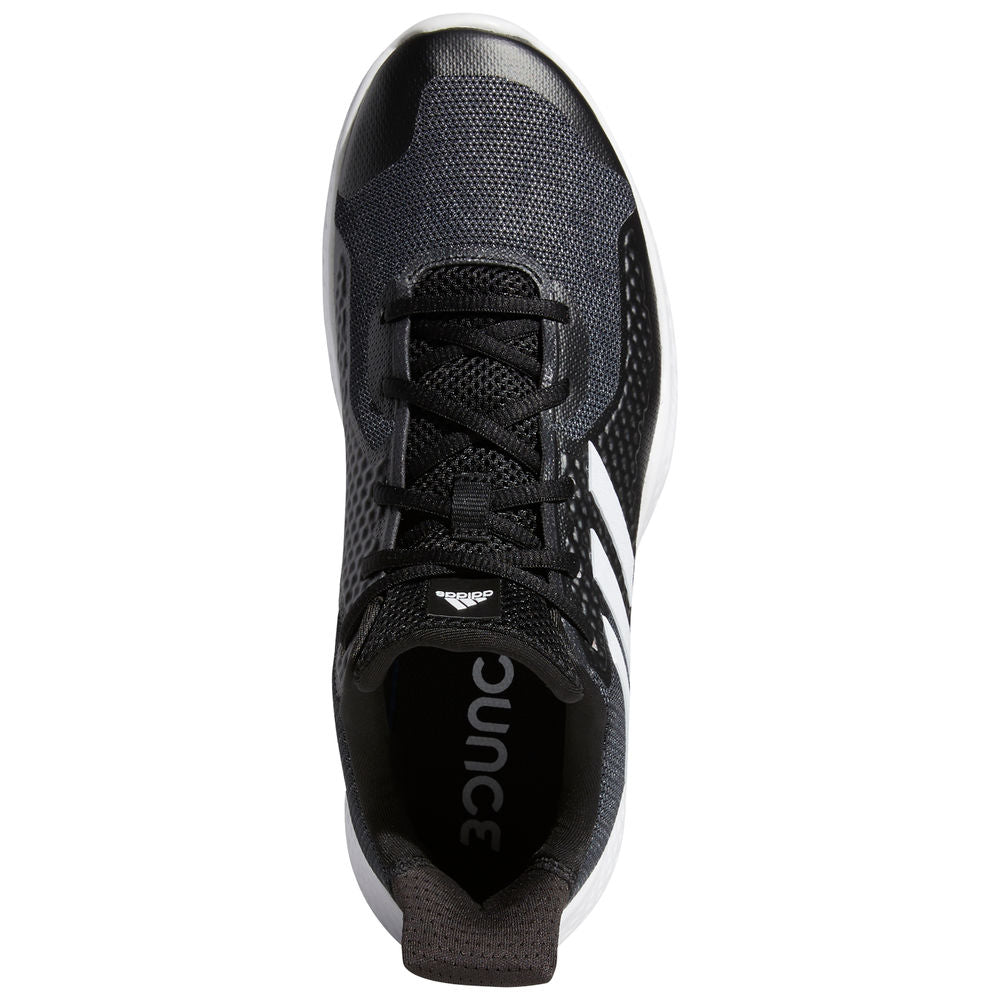 ADIDAS | MENS FITBOUNCE TRAINER BLACK/WHITE