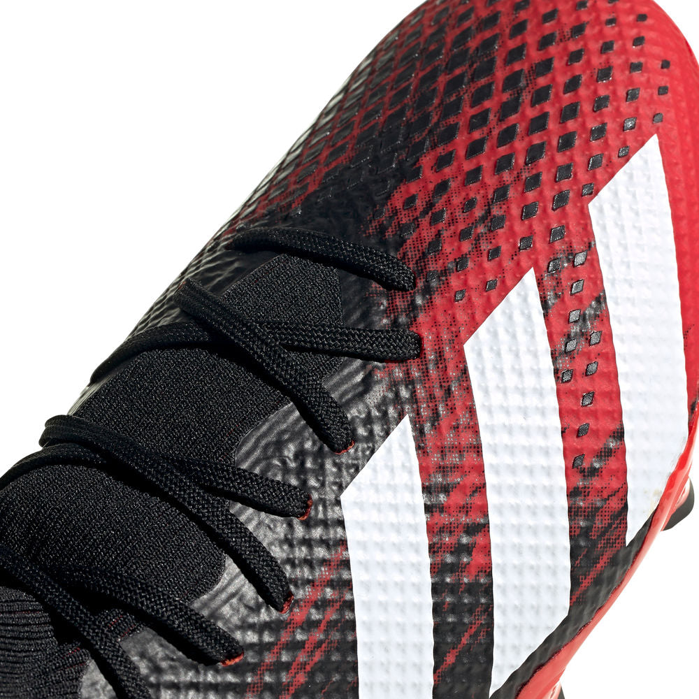 ADIDAS | MENS PREDATOR 20.3 FG BLACK/RED