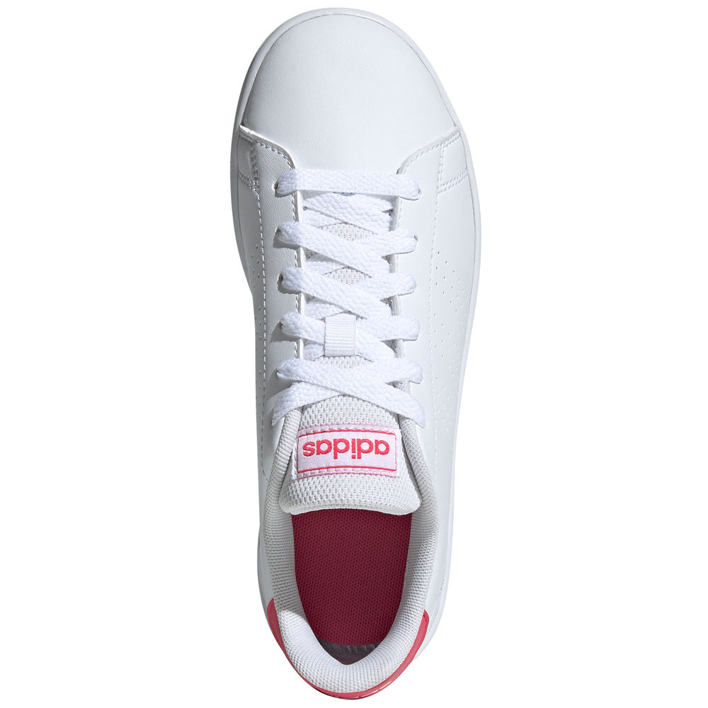 ADIDAS | KIDS ADVANTAGE WHITE/PINK
