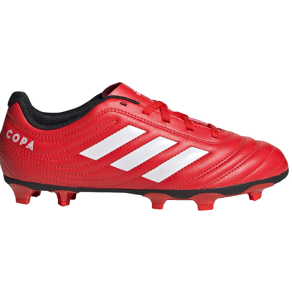 ADIDAS | KIDS COPA 20.4 FG J RED/WHITE