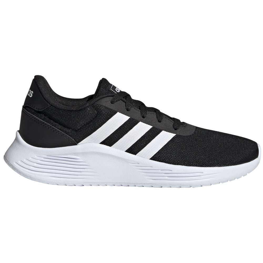 ADIDAS | WOMENS LITE RACER 2.0 BLACK/WHITE