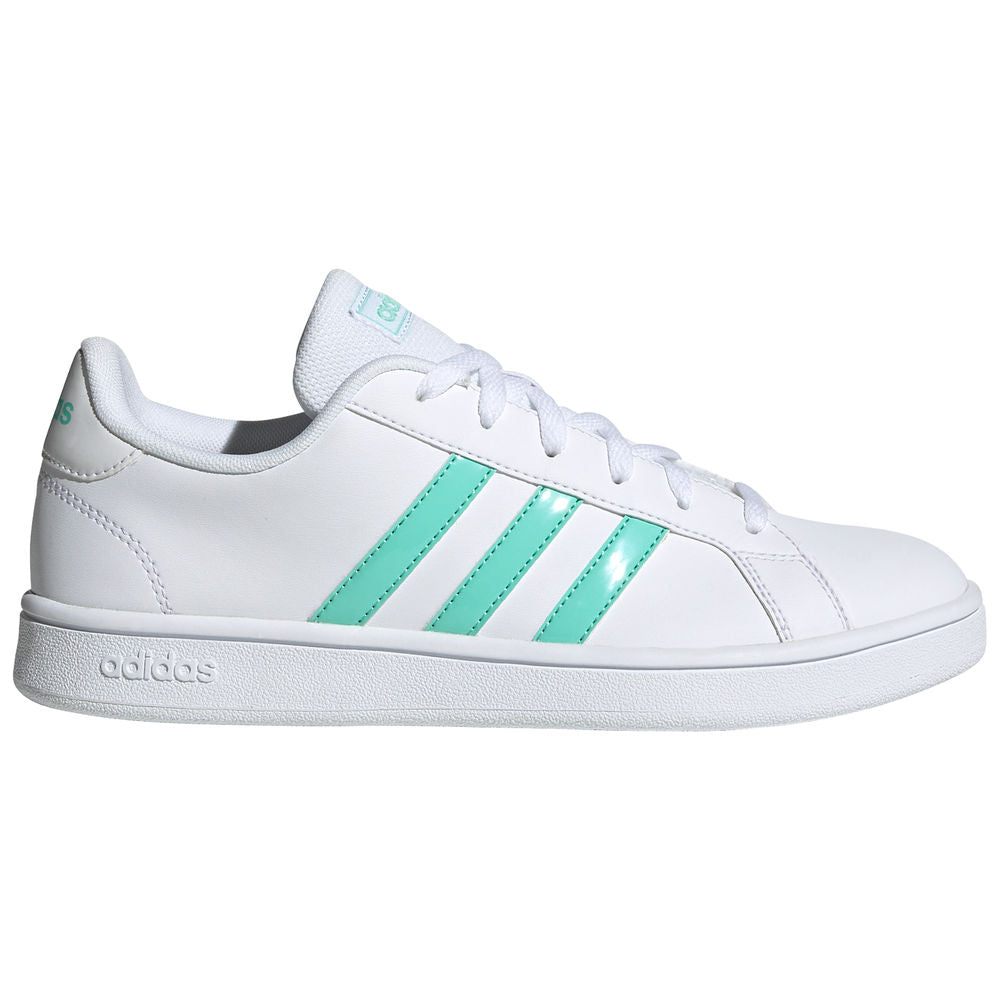 ADIDAS | WOMENS GRAND COURT BASE WHITE/TEAL