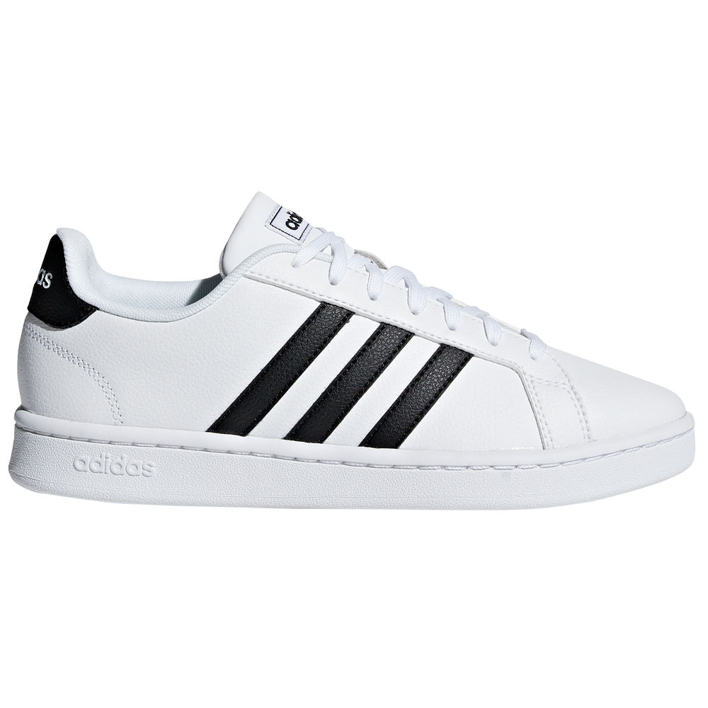 ADIDAS | WOMENS GRAND COURT WHITE/BLACK