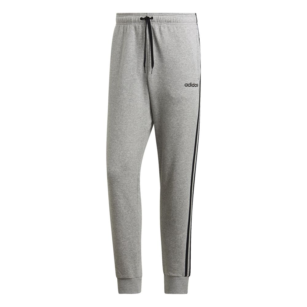 ADIDAS | MENS ESSENTIAL 3S TRACK PANT GREY/BLACK
