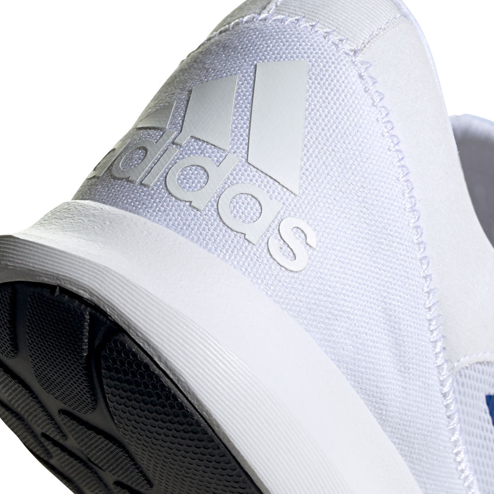 ADIDAS | MENS CORERACER WHITE/BLUE