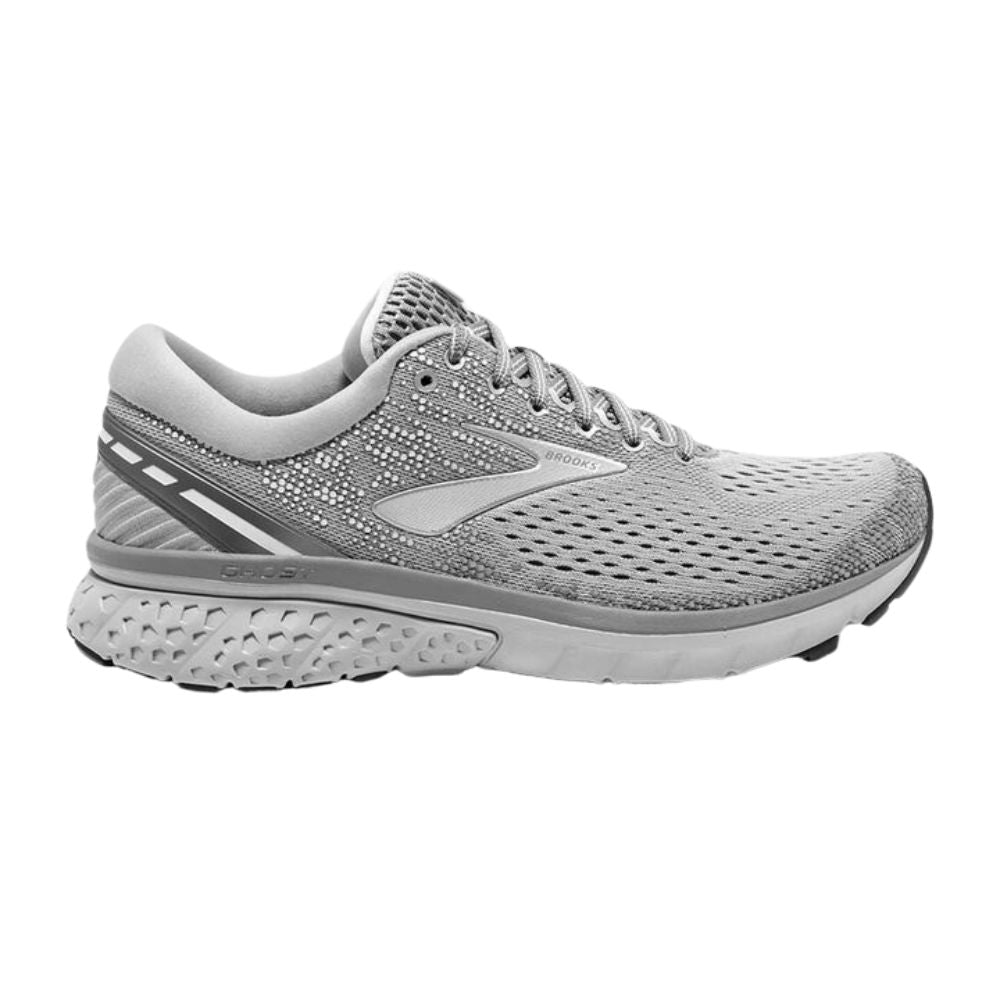 BROOKS | WOMENS GHOST 11 (GREY/SILVER/WHITE)